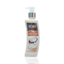 Victoria Beauty λοσιόν σώματος Coconut & Milk for All Skin Types, 400ml