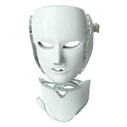 Μάσκα προσώπου λαιμού LED Συσκευή Ομορφιάς για άνδρες και γυναίκες 7 χρωμάτων φωτός