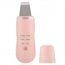 Συσκευή απολέπισης καθαρισμού προσώπου με υπερήχους ροζ