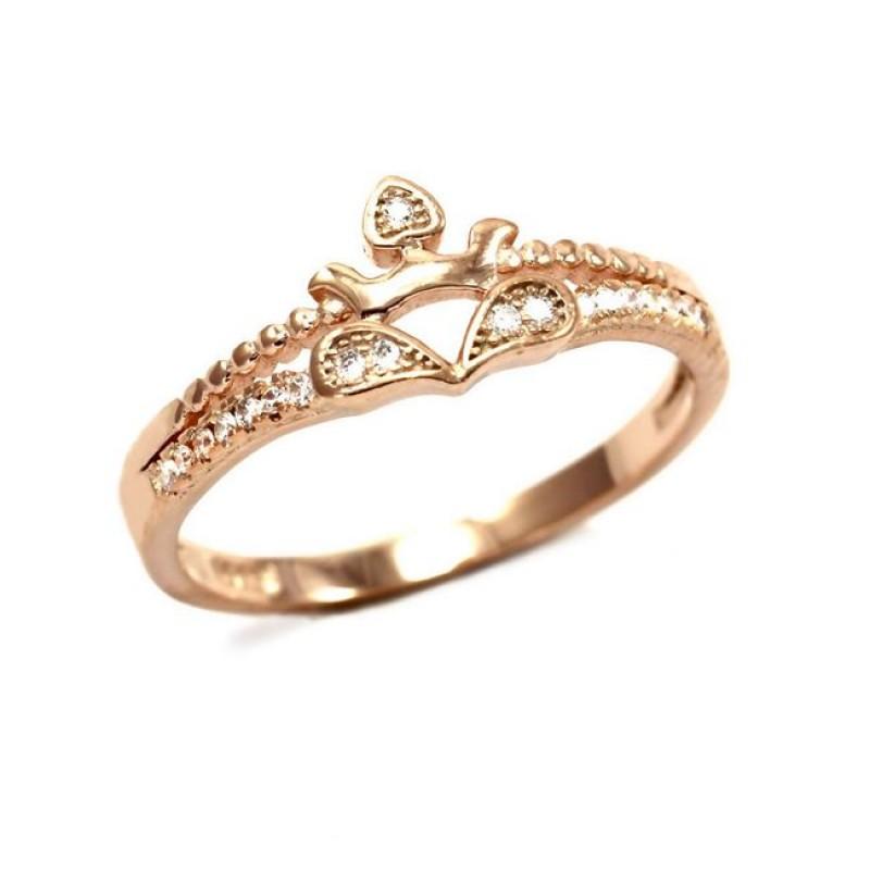 Γυναικείο Δαχτυλίδι Ασημένιο Κορώνα 68907efe065