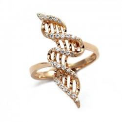 Γυναικείο Δαχτυλίδι Ασημένιο Κυματιστή κορδέλα