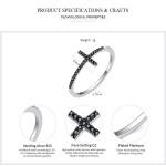 Γυναικείο Δαχτυλίδι Ασημένιο Σταυρός (μέγεθος7)