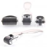 Derma Roller Τιτανίου System 3 σε 1 Dermaroller Titanium Silver