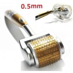 Derma Roller 192 ακίδων τιτανίου 0.5 mm Titanium