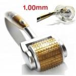 Μεσοθεραπεία Derma Roller 540 ακίδων τιτανίου 1.00 mm Titanium