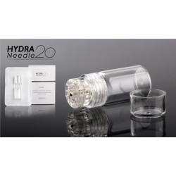 HYDRA Derma roller 20 Titanium GOLD plated 0.6mm σύστημα ενυδάτωσης
