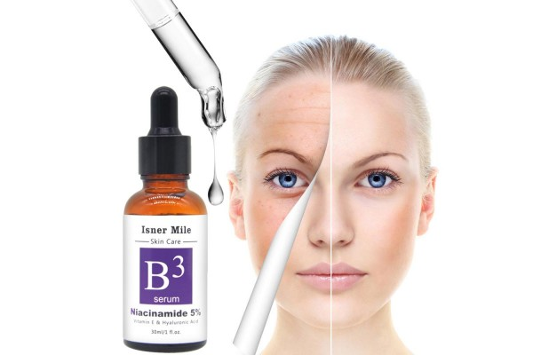 SUPER SERUM  3 PLUS  - VITAMIN B3 5% , VITAMIN E , HYALURONIC ACID